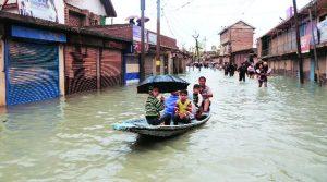 inondations cachemire