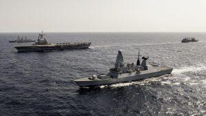 2014MCDG075 Photex FR-UK TF473 avec Fregate Daring
