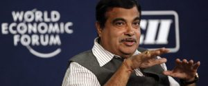 India's Transport Minister Nitin Gadkari speaks during the India Economic Summit 2014 at the World Economic Forum in New Delhi November 5, 2014. REUTERS/Anindito Mukherjee (INDIA - Tags: BUSINESS) - RTR4CWXF