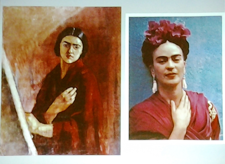 Amrita Sher Gil et Photo de Frida Khalo