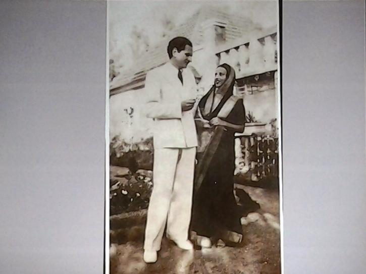 Amrita et son mari