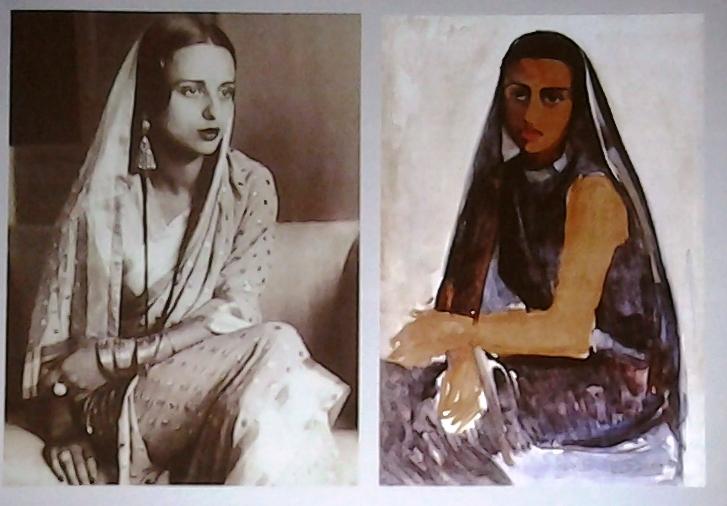 Autportrait en sari