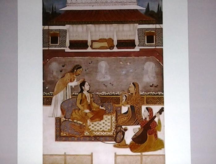 Miniature femmes persanes