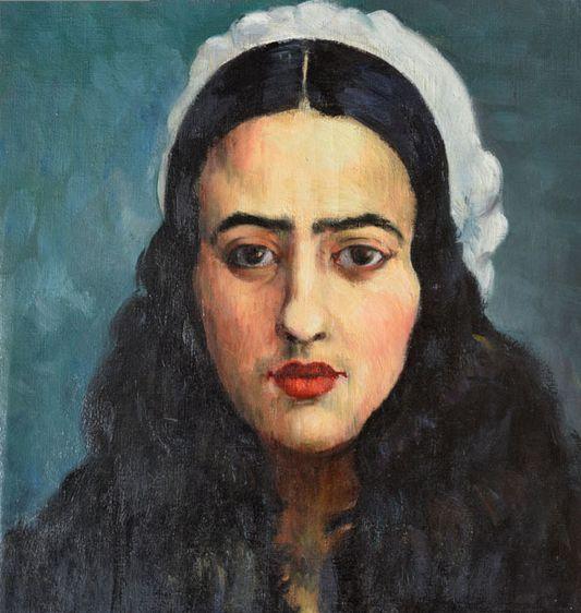 Portrait Amrita Sher Gil
