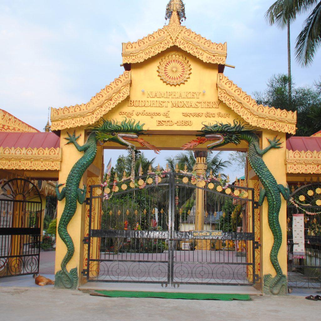 Temple bouddhiste de Namphake